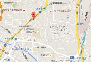 教室の地図
